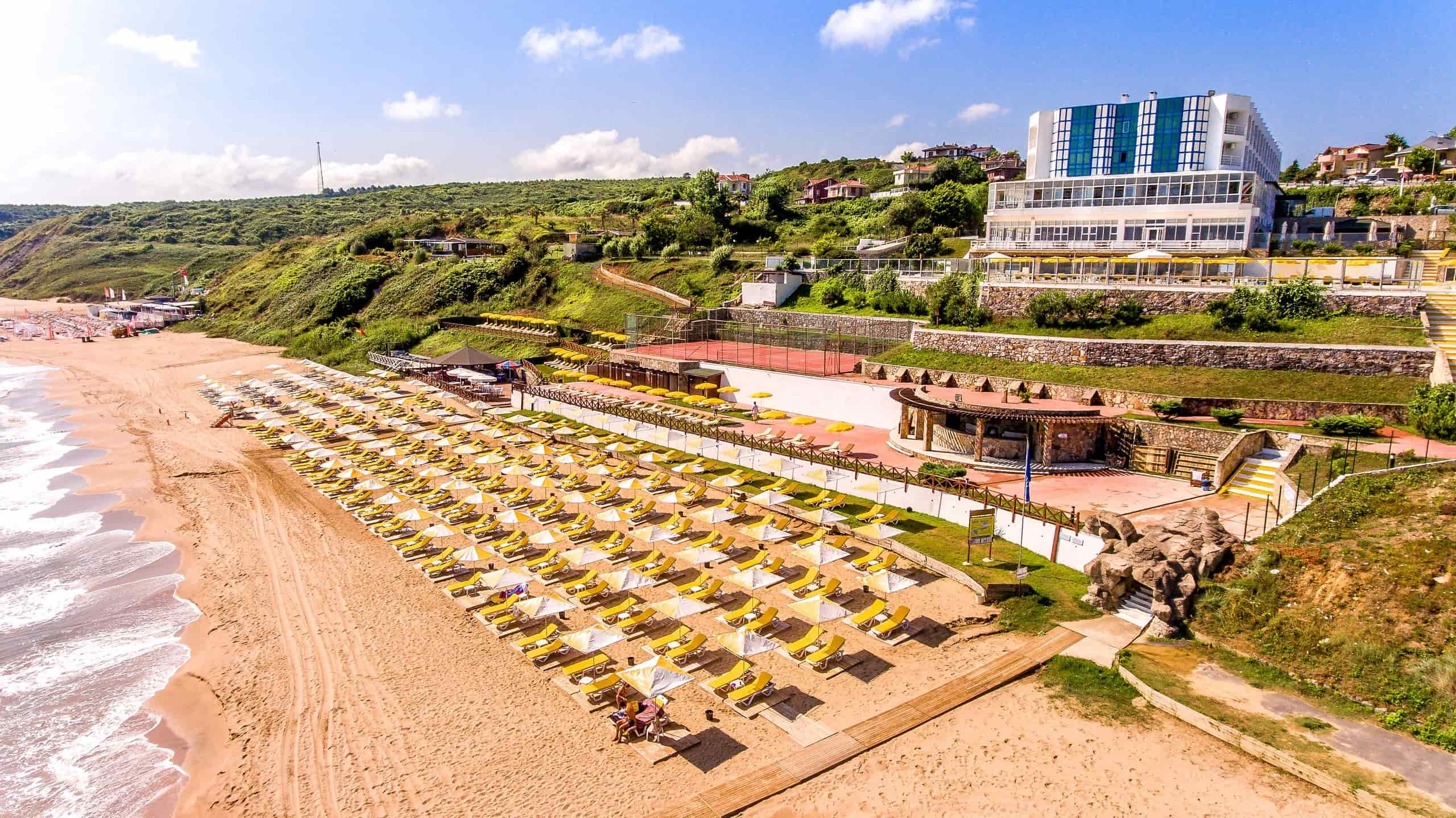 Şile Resort Hotel Plajı